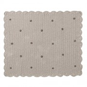 Lorena Canals MGC5 Crochet Blanket Galleta Grey/Grigio