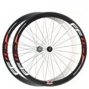 Fast Forward F4R Carbon DT240s Wheelset - Limited Edition Black/Chrome - Campagnolo