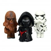 8cm Star Wars 7 The Force Awakens Kylo Ren Chewbacca Phasma First Order Stormtrooper PVC Model Action Figure Toys