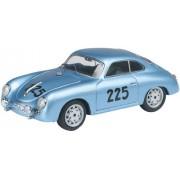 Schuco 452564300 Porsche 356 Coupé 225 Mille Miglia 1957 - Coche a escala 1:87 en color azul