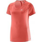 Salomon Agile SS T-Shirt Lady Coral M