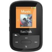 Mp3 Player SanDisk Clip Sport Plus, 16GB, Radio FM (Negru)