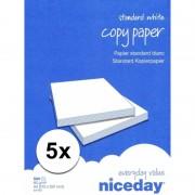 Hobbymaterialen wit A4 papier 2500 vellen