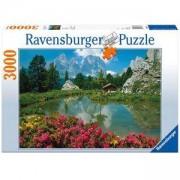 Пъзел 3000 части - Доломитите Италия - Ravensburger, 705013