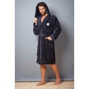 Мъжки халат Alex Grafit