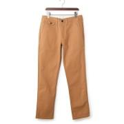 【50%OFF】BELLOWS カラーパンツ オレンジベージュ 30 ファッション > メンズウエア~~パンツ