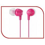 Sony Наушники Sony MDR-EX15LP Pink