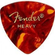 Fender 346 Shape Classic Celluloid Picks (12 Pack) for electric guitar acoustic guitar mandolin and bass