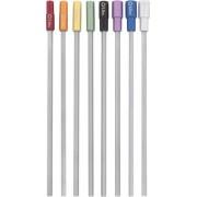 DONAU Steckschlüssel Set 8 tlg. 3,0 bis 7,0 mm, farblich gekennzeichnet