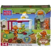 Mega Bloks Dino Tren 7421 Estación Triásica