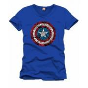 Tricou - Captain America - Logo Collage