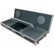 Citronic Case:tt19 Flightcase 8u 19 Mixer 2 X Cd Players Turntables
