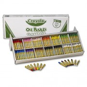 Crayola 52-4629 Crayola oil pastels classpack, jumbo-sized stick w/tapered point, 336/pack by Crayola