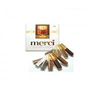 Шоколадови бонбони Merci (кафяво) Селкция Тъмен шоколад 250гр