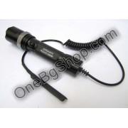 Мощен акумулаторен прожектор с CREE LED диод Police 50000W със спусък