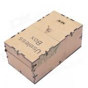 NEJE JS0006-6 Inutil montado completamente Maquina Toy Box - Negro (2 x AA)