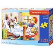 Castorland - Little Red Riding Hood, Puzzle 120 Pezzi