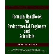 Formula Handbook for Environmental Engineers and Scientists by Gabriel Bitton