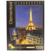 Clementoni - 39210 - Puzzle Fluorescent 1000 pièces - Paris