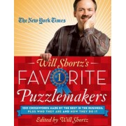 The New York Times Will Shortz's Favorite Puzzlemakers: 100 Crosswords Made by the Best in the Business; Plus Who They Are and How They Do It, Paperback