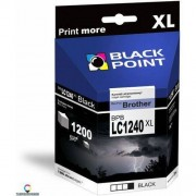 BlackPoint [BPBLC1240XLBK] Ink/Tusz Black Point (Brother LC1240BK) black