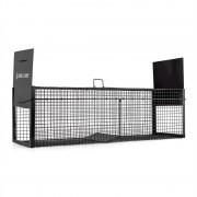 oneConcept Catch & Carry XL, fekete, nyestcsapda, 31 x 31 x 104 cm, acél (HT1-Catch & Carry XL)