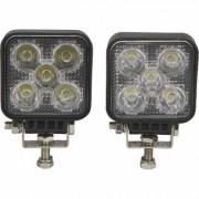Ironton Mini LED Worklights - 2-Pack, 15 Watts, 1050 Lumens, 10-30 Volts