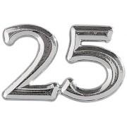 Gütermann / KnorrPrandell 6940269 - Numeri per anniversari 25 25cm, confezione da 2