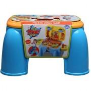 Comdaq Tool Blue Stool Playset