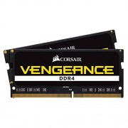 Corsair Vengeance Performance CMSX8GX4M2A2400C16 Kit di Memoria RAM da 8GB, 2x4GB, DDR4, Nero