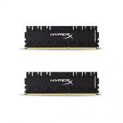 HyperX HX324C11PB3K2/8 Predator Black Modulo di Memoria da 8 GB, Kit da 2x4 GB, 2400 MHz, DDR3 CL11 DIMM