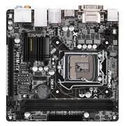 Asrock H81M-ITX Intel H81 Socket H3(1150) 1 x Ethernet 1 x HDMI 4 x USB 2.0 2 x USB 3.0