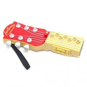 Infrared Electronic Air Guitar Musical Instrument Inspire Music Educational Kids Toy Birthday Gift Red