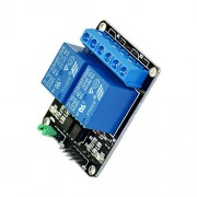 BOOOLE New 5V 2 Channel Relay Module Shield For Arm Pic Avr Dsp Electronic 10A - DIY Maker Open Source