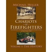 Chariots of Firefighters (Black & White Version) by Michael Heller