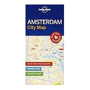 Lonely Planet Amsterdam City Map