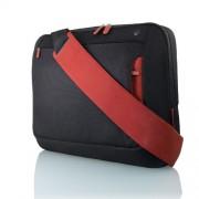"""Belkin Messenger Bag 17"""", Jet/Cabernet 17"""" Messenger case Black"""