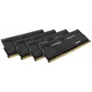 Kingston HyperX Predator HX428C14PBK8/64, 64GB, Kit (8x8GB), 2800MHz, DDR4, Non-ECC CL14 DIMM XMP, Compatibili con Skylake