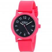 Vestal Mens ALP3P03 Alpha Bravo Plastic Analog Display Japanese Quartz Pink Watch
