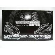 Transformers United Darkside Optimus Prime & Megatron - Tokyo Toy Show 2011