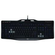 Tastatura Gaming Iluminata LOGITECH G105 USB Negru