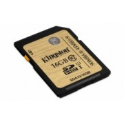 Memoria Flash Kingston, 16GB SDHC/SDXC UHS-I Clase 10