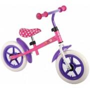 Disney Loopfiets Minnie Bow Tique 12 Inch Meisjes Roze/Paars