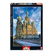 Educa 16289 Jigsaw Puzzle 1000 Pieces - The Christ Resurrection Church, St. Petersburg