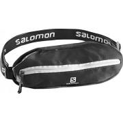 Salomon Agile Single Belt Black - Cintura, Unisex, Nero, NS