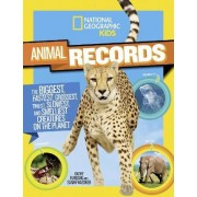National Geographic Kids Animal Records by Sarah Wassner