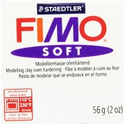 Fimo Soft Polymer Clay 2 Ounces-8020-0 White