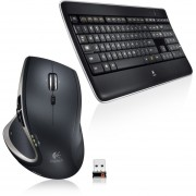 Kit Teclado/Mouse Logitech 920-006237/MX800 Inalambricos-Neg