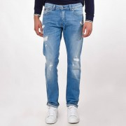 "KAPORAL 5 Straight-Fit-Jeans ""Broz"" im Destroyed-Look, Länge. 34"