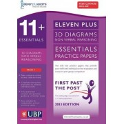 11+ Essentials 3D Non-Verbal Reasoning Practice Papers for CEM: Book 1 by Educational Experts
